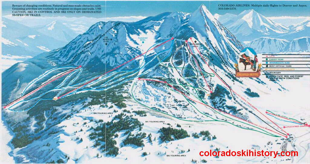 Skiing Colorado Map.Colorado Ski Maps