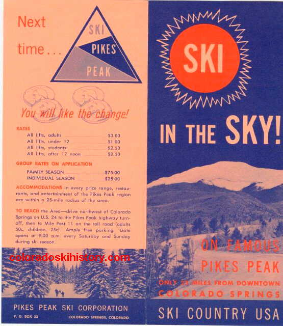 Old Ski Area Brochure