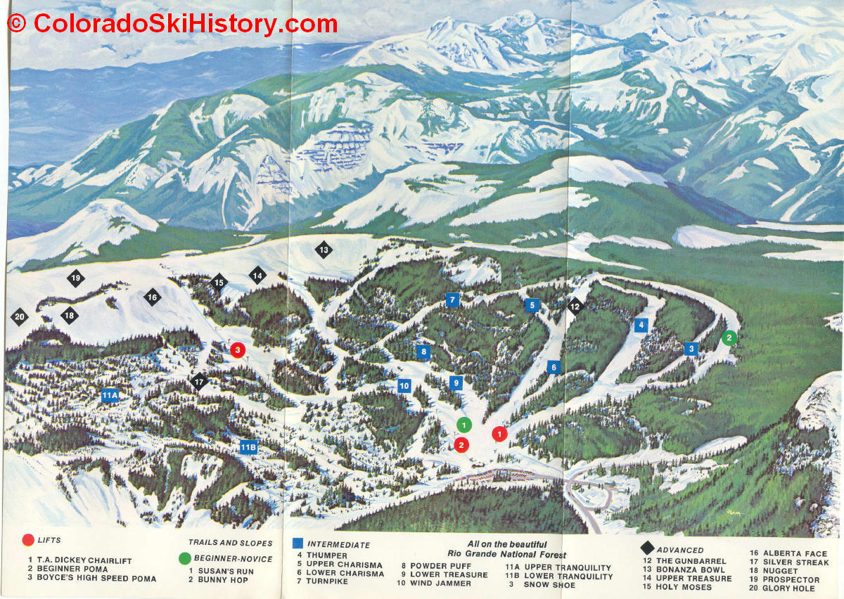 history of the wolf creek ski area